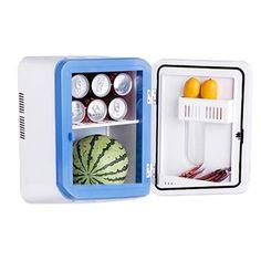 Caixa dupla de aquecimento e refrigeração geladeira mini carro carro para casa quarto de solteiro quarto de Pesca portátil mini freezer