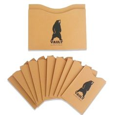 Credit Card Protector and passport holder for identity theft prevention. Provides 100% security for cards with RFID chip technology. Vault - Elk And Bear: Handpicked http://www.amazon.com/dp/B00YBD9DFA/ref=cm_sw_r_pi_dp_L1iHvb0JW8TTR