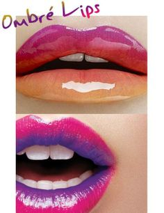 Two-Toned lipstick tutorial