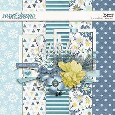 Quality DigiScrap Freebies: Brrr mini kit freebie from Melissa Bennett