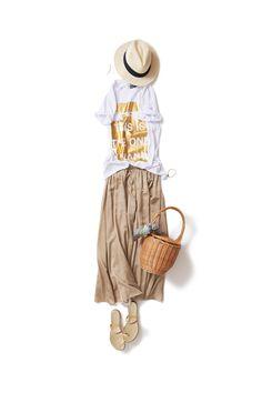 Kyoko Kikuchi's Closet #kk-closet リゾート気分を都会で着る