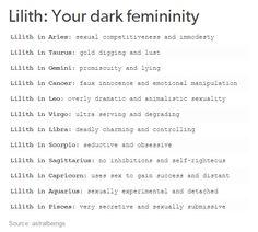 Lilith: Your Dark Femininity