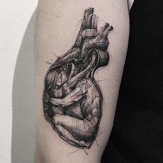 "Polubienia: 1,944, komentarze: 37 – Bk_tattooer (@bk_tattooer) na Instagramie: ""L O V E  아듀!!2016 🙏🏻"""