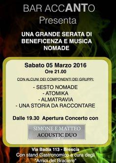 Tributo Nomadi a Brescia http://www.panesalamina.com/2016/45530-tributo-nomadi-a-brescia.html