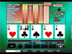 USA Mobile Aces and Faces Video Poker from Treasure Mile
