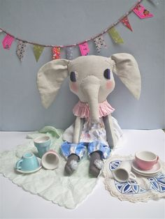 clothandthread — cloth elephant MADE TO ORDER