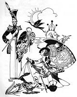 Joyce Mercer's Illustrations for The Classic Fairy Tales of Hans Andersen