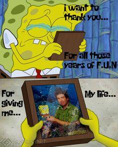 I decided to make a little homage to Stephen Hillenburg. Thanks for making part of my childhood, Stephen. Homage to Stephen Hillenburg Watch Spongebob, Spongebob Memes, Spongebob Drawings, Cartoon Drawings, Sad Anime, Kawaii Anime, Jim Henson Puppets, Spongebob Squarepants Tv Show, Stephen Hillenburg