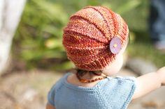 Poppy hat- free knit pattern