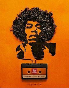 Hendrix p� cassetes