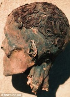 """""""...ancient Egyptians used gels and other products to style elaborate hairdos, both in life and death."""""""