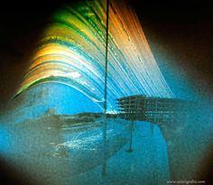 https://flic.kr/p/H9qFN5 | Obra abandonada en Alicante, Ciudad de la Luz III | Solarigrafía de una obra abandonada en la Ciudad de la Luz. Alicante. Tiempo de exposición: 23-06-2012 al 30-11-2013. Cámara estenopeica de proyección cilíndrica. Plano focal orientado al Oeste. ©Diego López Calvín #solarigrafia #solarigraphy #solargraphy #pinhole #estenopeica #largaexposicion #longexposure