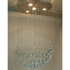 Find it at the Foundary - Crystal Glove Pendant Light