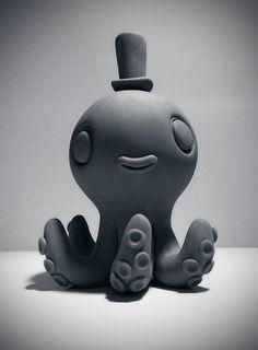 Upcoming Pembleton Stranglefoot vinyl figure Sculpt | UmeToys - http://ume-toys.blogspot.com/