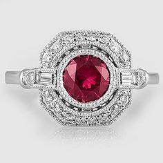 Sapphire Ostara Ring