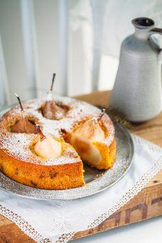 Delicious Carrot Cake with Pear Carrot cake Zuckerzimtundliebe autumn autumn cake recipe carrot cake recipe pears