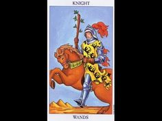 Tarot Card Lessons Made Easy: Highlighting The Knight Of Wands
