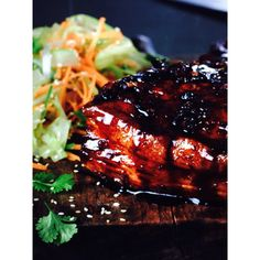 Ribs with asian glaze