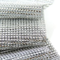 Silver Diamond Mesh Wrap