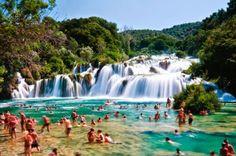 Skradinski buk: uma das mais conhecidas belezas naturais da Croácia - AC Variedades