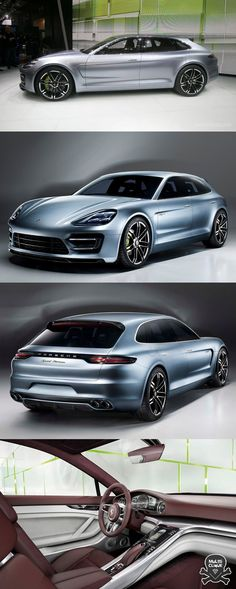 Porsche Panamera Esporte Turismo If I ever win the lottery, this will be my first purchase.  Black with red interior....of course!