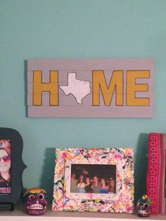 State home sign -- can be customized to any state on Etsy, $25.00