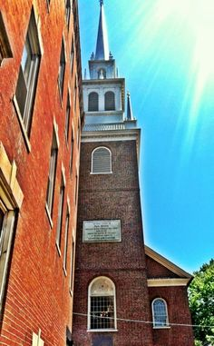 Old North Church on the Freedom Trail, Boston, Massachusetts