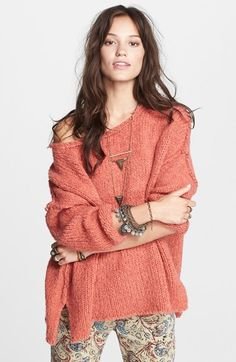 Free People 'Teddy Bear' Sweater on shopstyle.com