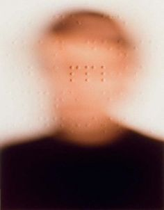 Patrick Tosani - Portraits (1985) - Color photographs & braille