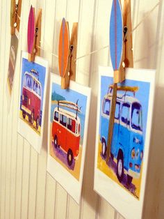 decoration idea-love the clothes pins