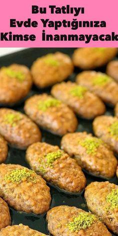 Practical Sinker Dessert Recipe at Home - Turkish Recipes Easy Cake Recipe Using Buttermilk, Turkish Recipes, Ethnic Recipes, Cake Recipes, Dessert Recipes, Rhubarb Cake, Bon Dessert, Carne Asada, Iftar