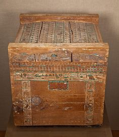 Canopic chest of Hapiankhtifi, Egypt, 1981–1802 B.C.