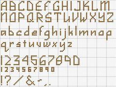 cross stitch alphabets - Google Search