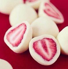 Yogurt Covered Strawberries! <3