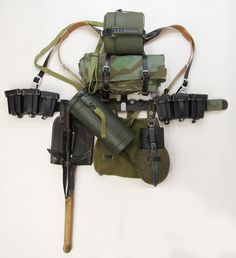 German Rifleman's Field gear
