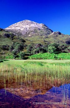 Sgurr Dubh reflected in Loch Clair, Wester Ross, Isle of skye, Scotland. Scotland Landscape, Irish Landscape, Skye Scotland, England And Scotland, Wester Ross, Orkney Islands, Irish Sea, Countries To Visit, Scottish Highlands
