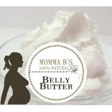 Extra Strength Pregnancy Belly Butter with Hemp Rosehip & Carrot Oil