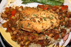Slow cooker Chicken Provencal.