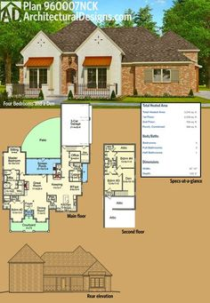 4 bedroom...good way to modify the modular plan with study in master ...
