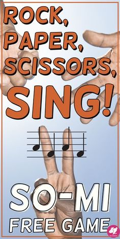 Rock, Paper, Scissors, SING is a fun, FREE, PowerPoint music game for the elementary or middle school classroom that reinforces so-mi melodic patterns! This starter game is a great activity for kids to practice sight-singing sol-mi on the 5-line staff! Th