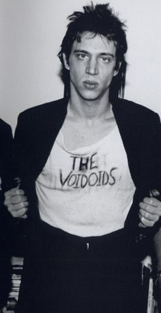 Richard Hell / unwilling father of punk rock fashion, and an all around talent.
