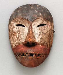 A KING ISLAND ESKIMO MASK - Art Curator & Art Adviser. I am targeting the most exceptional art! See Catalog @ http://www.BusaccaGallery.com (King Island (Inupiaq: Ugiuvak) is an island in the Bering Sea, west of Alaska.)
