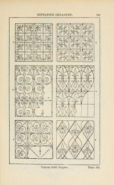 A handbook of ornament; by Meyer, Franz Sales, 1849, Plate 180
