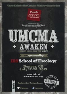 Postcard for United Methodist Campus Ministry Association