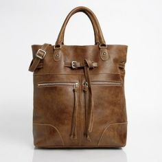 Longbeach Tote Vintage Tribe Leather - I love this bag! I use it every day and it just gets better with age!
