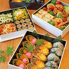 運動会のお弁当2014☆初めての小学校の運動会