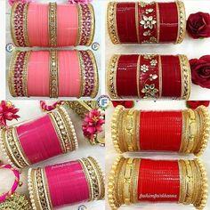 No photo description available. Pakistani Jewelry, Indian Wedding Jewelry, Indian Jewelry, Indian Bangles, Indian Bridal, Bridal Bangles, Bridal Jewelry, Beaded Jewelry, Hand Jewelry