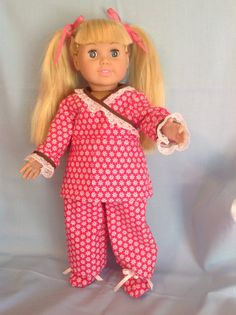 American Girl doll or any 18 inch doll. 3 by CuteAsPieCreations, $12.00