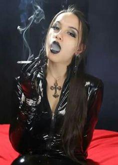 Smoking in latex