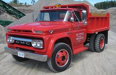 1962 GMC 4000 damperli kamyon